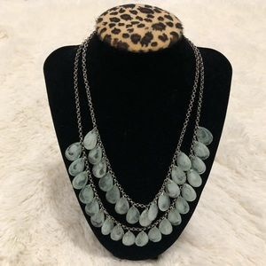 Forever 21- Double Layered Turquoise Necklace